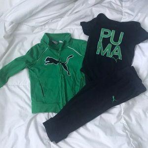 Puma Matching Set Toddler size 24mo